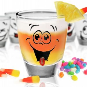 Shooter, Verres à Shot - Vodka , Tequila - Dessin Humour émoticônes - Arts de la table - Sables et Reflets