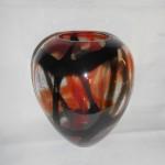 Vase Boule Ligne Orange et noir 19.90 €