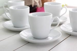 tasse à café sables et reflets