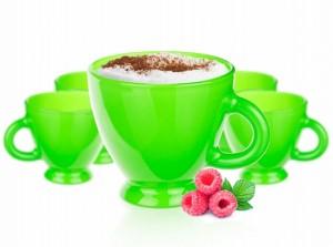 tasse céramique couleur verte