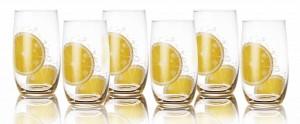 big_vere à soda motif citron
