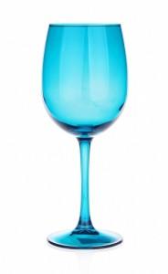 verres à pieds Bleu