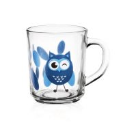Tasse Hibou - Arts de la Table - Sables et Reflets