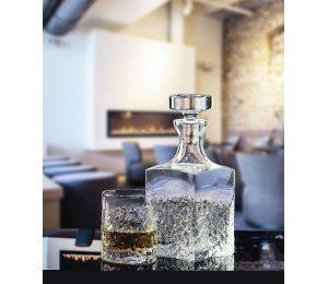 Ensemble Carafe et 6 Verres à Whisky