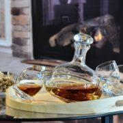Carafe à whisky Toupie et ses 6 verres