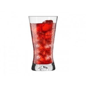 6 verres Forme X / Soda, Cocktail, jus, sirop / 300 ml