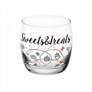 """6 Verres à jus - verres à eau - Verres à soda - 290 ML - Collection """" Sweet & treats """""""