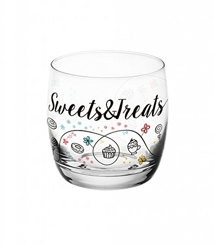 "6 Verres à jus - verres à eau - Verres à soda - 290 ML - Collection "" Sweet & treats """