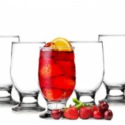 6 Verres à eau, jus, soda - Gobelets - Verres de table