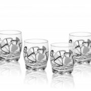 6 Verres Gobelets à eau, Soda et à jus / Collection TRIANGLE / 250 ml / Sables & Reflets