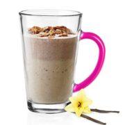 6 Mugs en verre Couleurs Magenta, Tasses Cappuccino, Café Latte