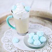 6 Mugs en verre couleur Turquoise, Tasses Cappuccino, Café Latte