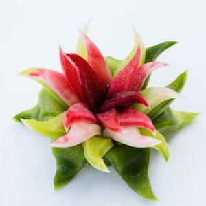 Bougie Fleur au Parfum Naturelle – Senteur Thé Vert