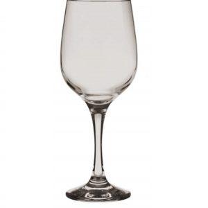 6 Verres à vin teintés Gris Transparent