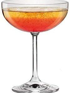 Sables & Reflets 6 Verres à Champagne/Kir Royale/Verres Cristallin / 205 ML