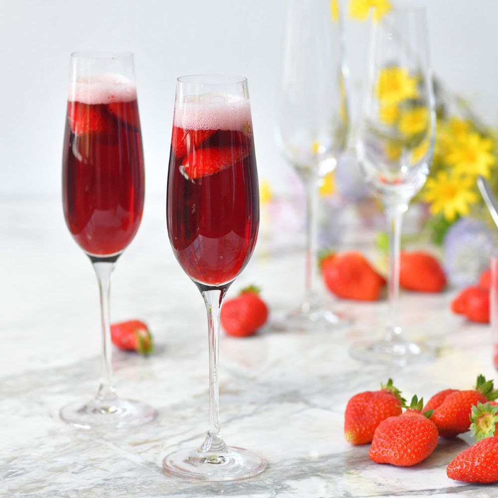 6 Flûtes à Champagne Spleen