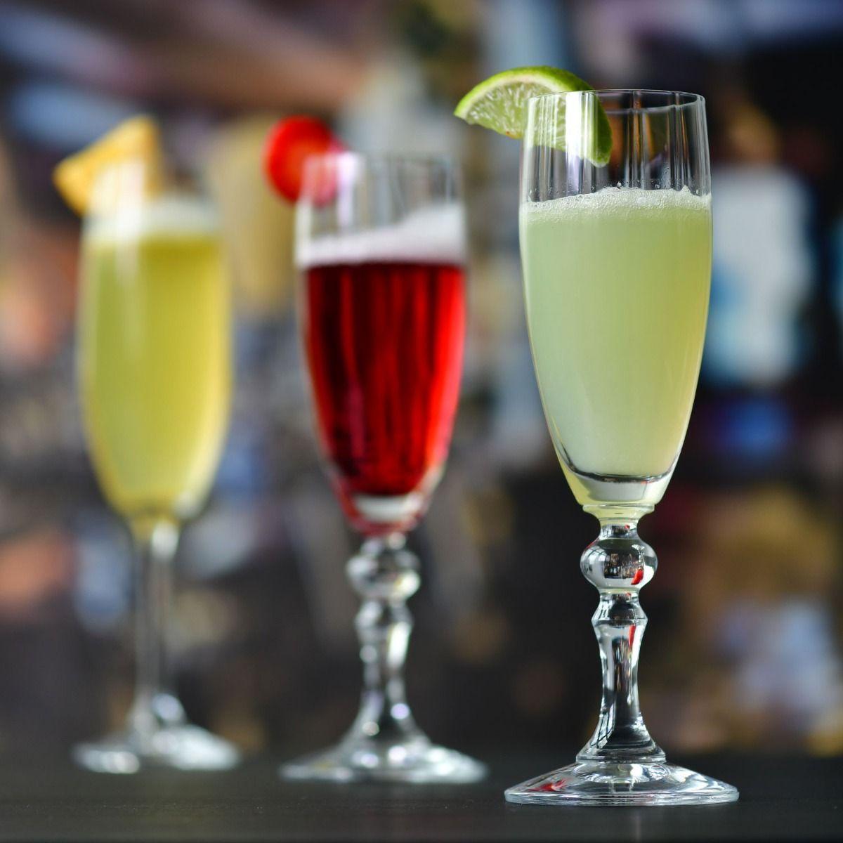 6 Flûtes à Champagne Lumina