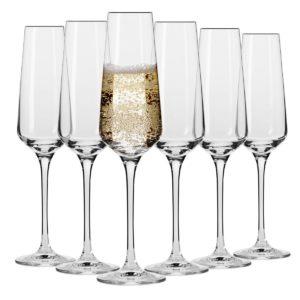 6 Flûtes à Champagne L'Avant Garde